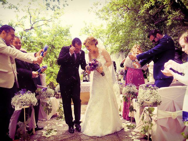 La boda de Jesús y Estela en Valdastillas, Cáceres 33