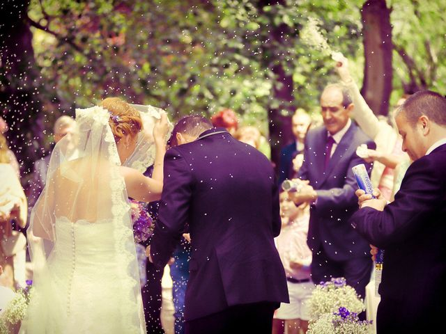 La boda de Jesús y Estela en Valdastillas, Cáceres 34