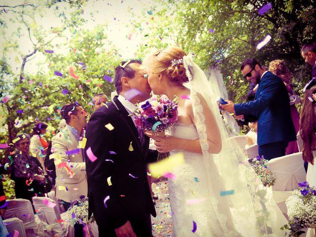 La boda de Jesús y Estela en Valdastillas, Cáceres 35