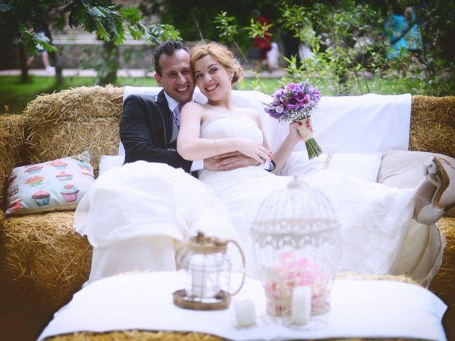 La boda de Jesús y Estela en Valdastillas, Cáceres 47