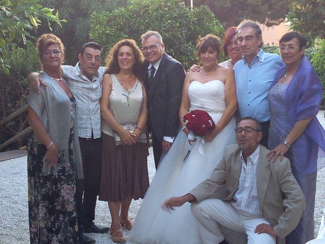 La boda de Mario y Isabel  en Canet De Mar, Barcelona 1