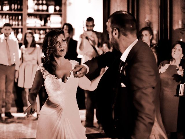 La boda de David y Rosa en Sevilla, Sevilla 142