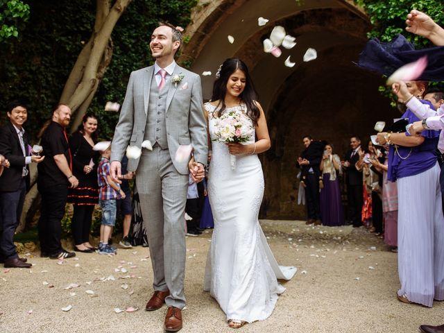 La boda de Christian y Natalia en Altafulla, Tarragona 40