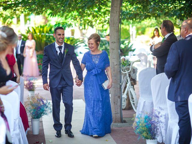 La boda de Perdo y Carmen en Rioja, Almería 8