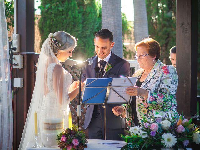 La boda de Perdo y Carmen en Rioja, Almería 10