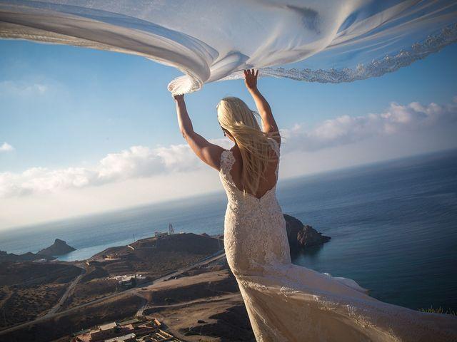 La boda de Perdo y Carmen en Rioja, Almería 25