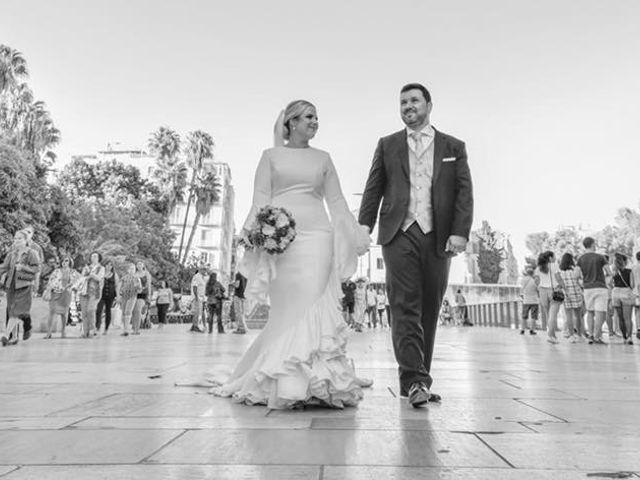 La boda de Jorge y Lorena en Málaga, Málaga 1