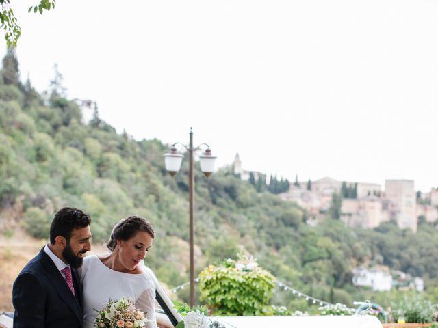 La boda de Gianluca y Isabel en Granada, Granada 11
