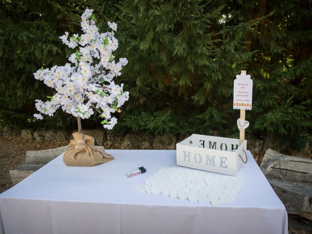 La boda de Javier y Carmen en Requijada, Segovia 1