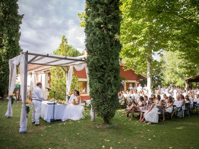 La boda de Javier y Carmen en Requijada, Segovia 23