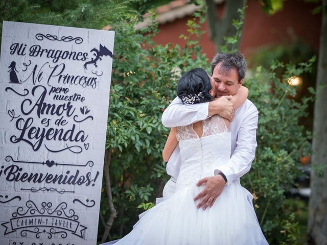 La boda de Javier y Carmen en Requijada, Segovia 39