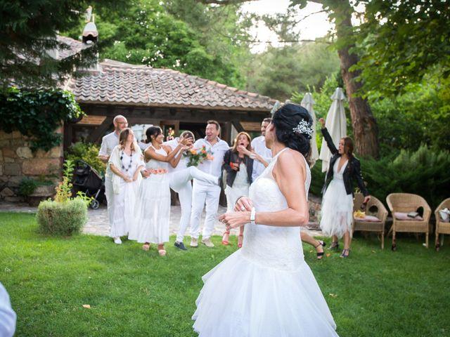 La boda de Javier y Carmen en Requijada, Segovia 48