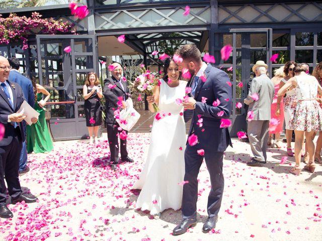La boda de David y Almudena en El Puig, Valencia 1