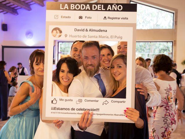 La boda de David y Almudena en El Puig, Valencia 10