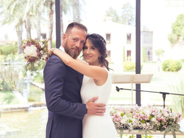 La boda de David y Almudena en El Puig, Valencia 2