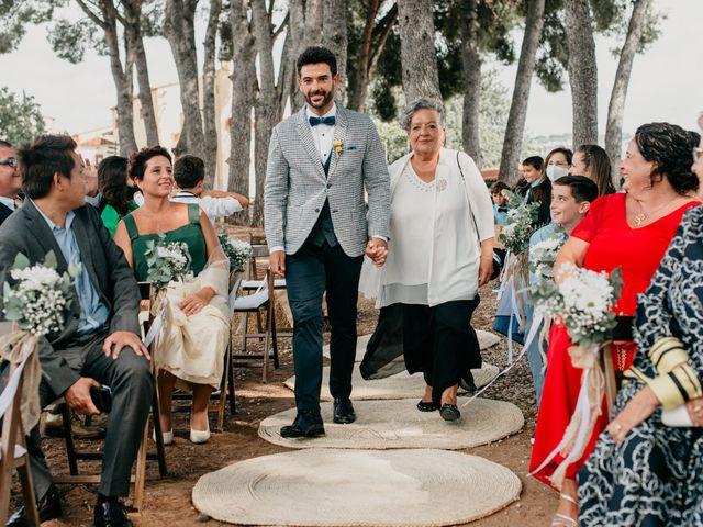 La boda de Guillém y Berta en El Vendrell, Tarragona 22
