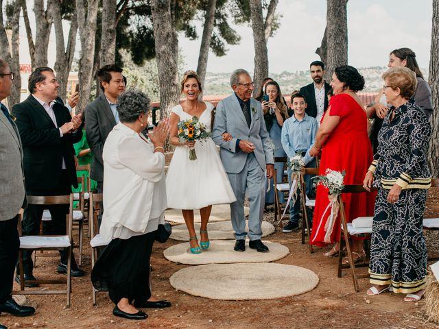 La boda de Guillém y Berta en El Vendrell, Tarragona 26