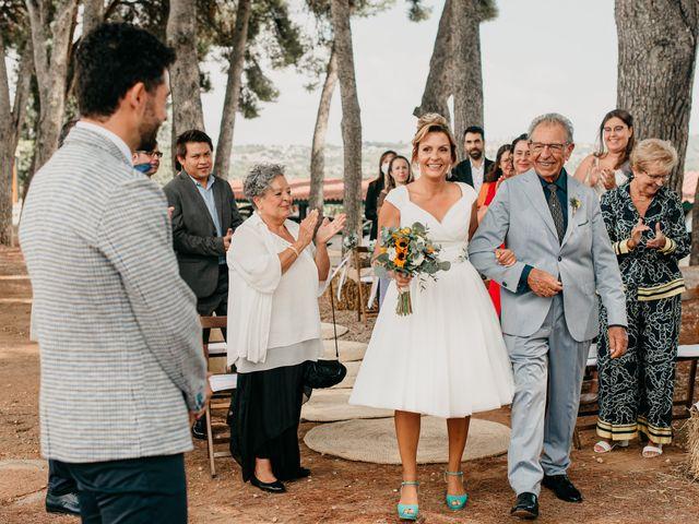 La boda de Guillém y Berta en El Vendrell, Tarragona 27