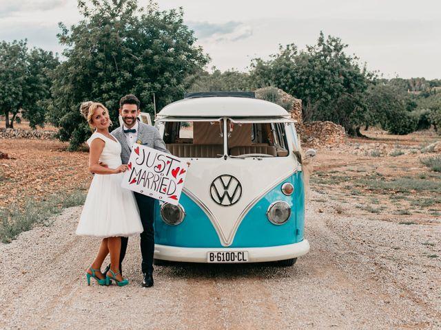 La boda de Guillém y Berta en El Vendrell, Tarragona 53