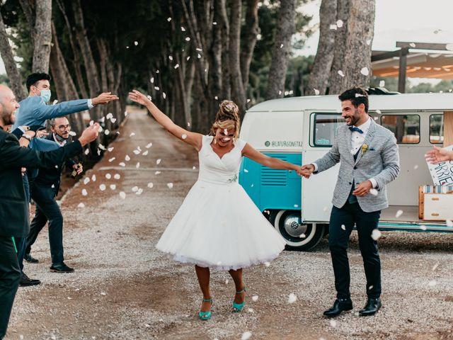 La boda de Guillém y Berta en El Vendrell, Tarragona 56