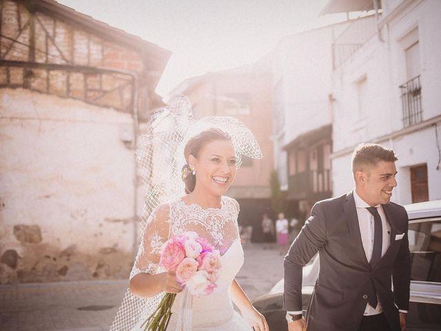 La boda de Alfredo y Ana Cruz en Valdastillas, Cáceres 1