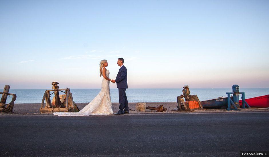 La boda de Perdo y Carmen en Rioja, Almería