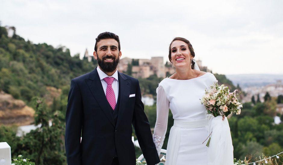 La boda de Gianluca y Isabel en Granada, Granada
