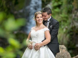 La boda de Uxía y Damián