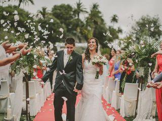 La boda de Birima y Néstor