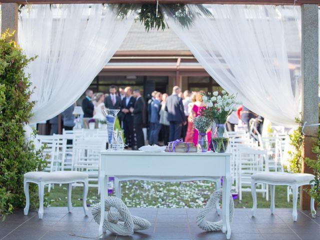 La boda de Damián y Uxía en Vilalba, Lugo 14