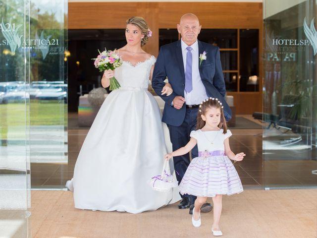 La boda de Damián y Uxía en Vilalba, Lugo 18
