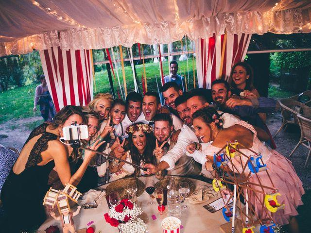 La boda de Rubén y Sony en Vilanova De Sau, Barcelona 43