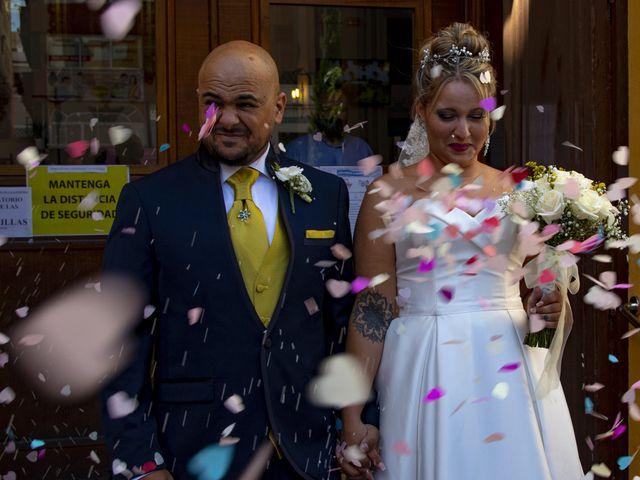 La boda de Eduardo y Rocío en Málaga, Málaga 1