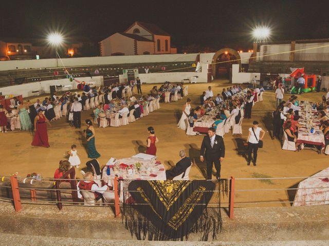 La boda de Antonio y Mª Jesús en Conquista, Badajoz 1