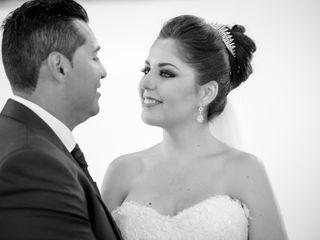 La boda de Estefanía y Leo
