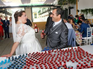 La boda de Joaquín y Mayka
