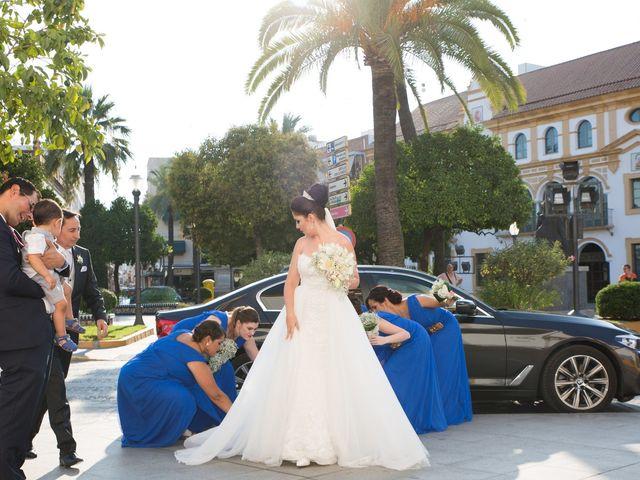 La boda de Leo y Estefanía en Salteras, Sevilla 2
