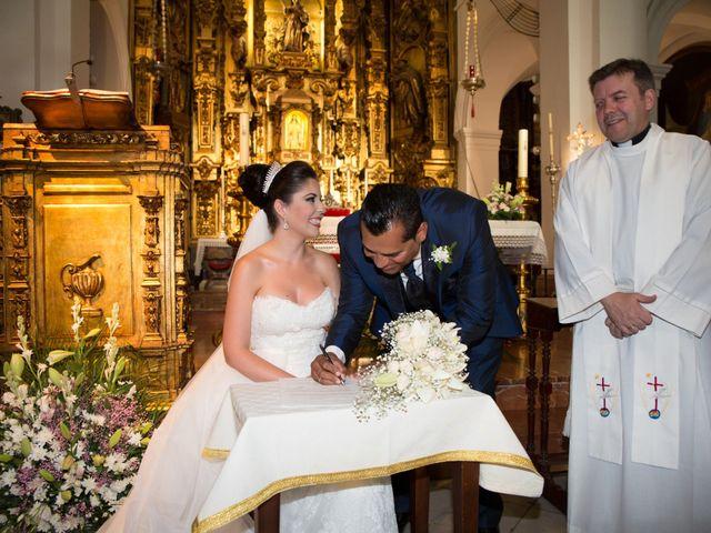 La boda de Leo y Estefanía en Salteras, Sevilla 14