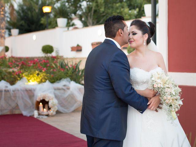 La boda de Leo y Estefanía en Salteras, Sevilla 20