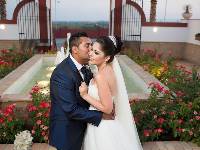 La boda de Leo y Estefanía en Salteras, Sevilla 25