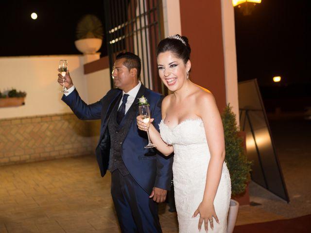 La boda de Leo y Estefanía en Salteras, Sevilla 32