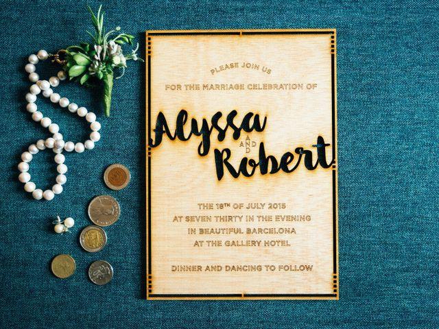 La boda de Robert y Alyssa en Barcelona, Barcelona 4