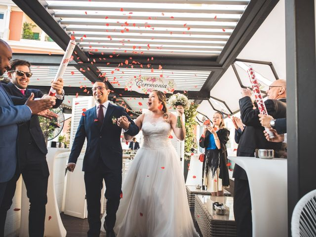 La boda de Jorge y Gaby en Madrid, Madrid 17