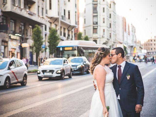 La boda de Jorge y Gaby en Madrid, Madrid 18
