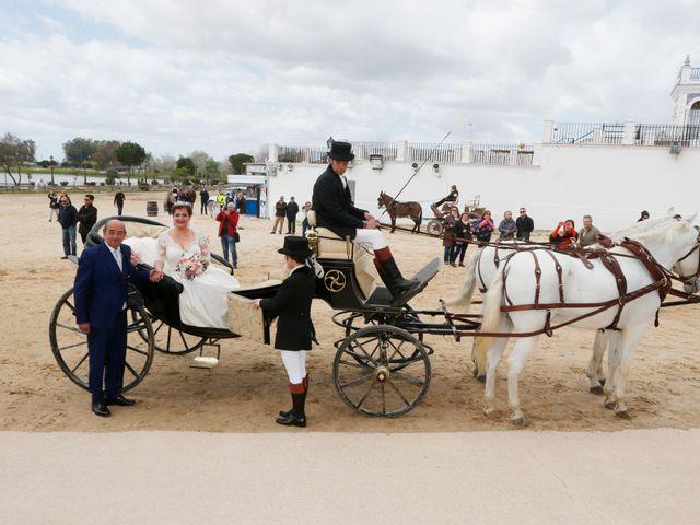 La boda de Mayka y Joaquín en El Rocio, Huelva 9