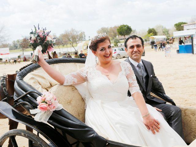 La boda de Mayka y Joaquín en El Rocio, Huelva 14
