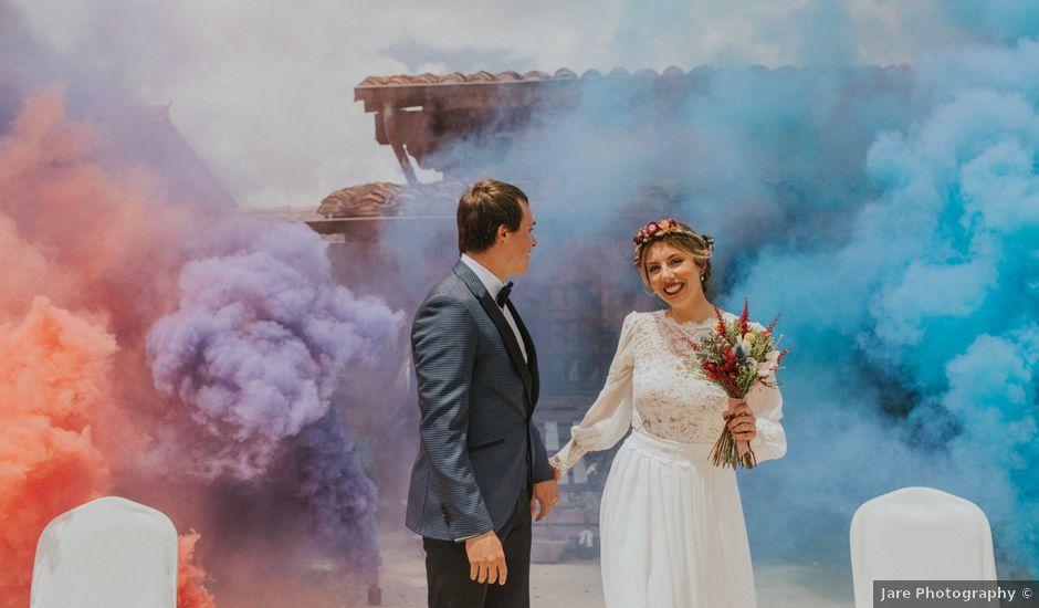La boda de Rubén y Patricia en Elorriaga, Álava