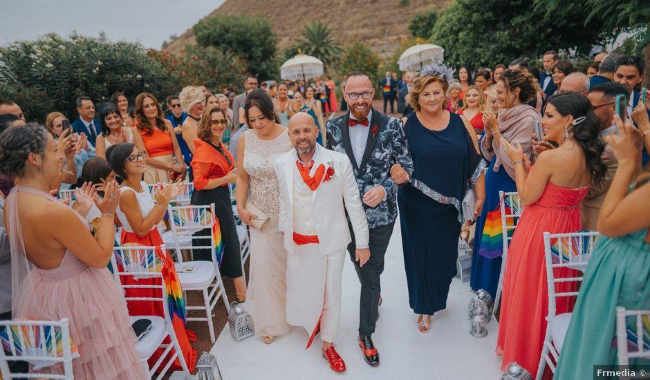 La boda de Andres y Juantxo en Los Realejos, Santa Cruz de Tenerife