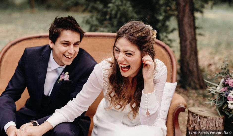 La boda de Dani y Èlia en Muntanyola, Barcelona