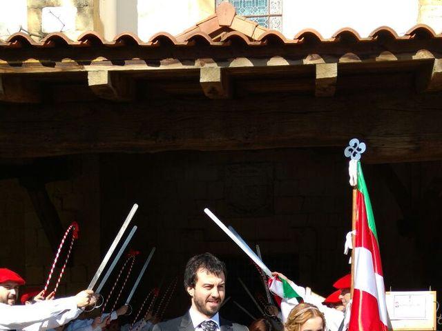 La boda de Iñaki y Itxaso en Andra Mari-Getxo, Vizcaya 1